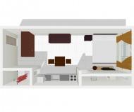 ワンルーム型1人部屋6