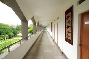 学生寮廊下